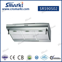 Under-Cabinet Range Hood with Infinitely Adjustable Speed Control, 36-Inch, Stainless Steel