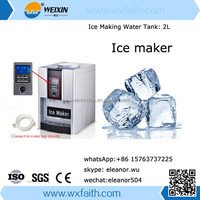 ice cube maker water portable ice maker with water dispenser