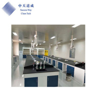 School Laboratory Equipment Esd Work Bench / Ceramic Laboratory Table For Pathology Lab Bench