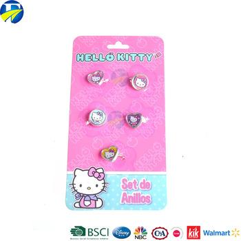 51eeaa799 F&j Wholesales Girls Jewelry Ring Authorized Pretty Kids Rings - Buy ...