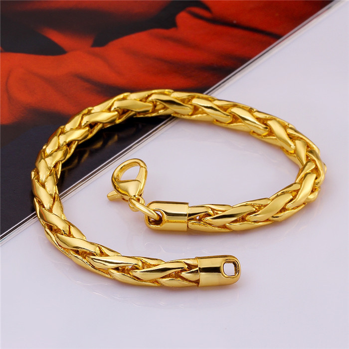 2015 Latest Arrival Dubai Gold Jewelry Energy Bracelet Design For ...