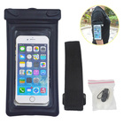Top sell pvc plastic material waterproof cellphone bag for swimming
