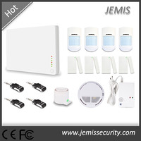 safe house alarm system&burglar home alarm gsm wireless&emergency alarm lcd display JM-G1D
