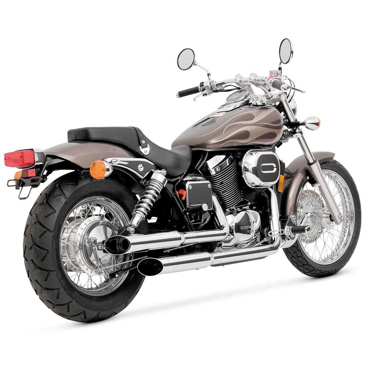 Get Quotations · Vance And Hines Cruzers Full System Exhaust For Honda 2001 07  Spirit 750   One
