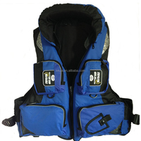 China Factory Cheap Adjustable Life Fishing Jackets Vest Professional Floating Material for Boating