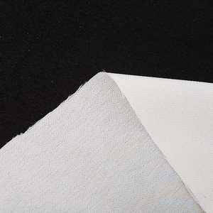 Logo printed suit fusible buckram polyester woven interlining