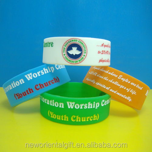 china wholesale memorial silicone wristbands