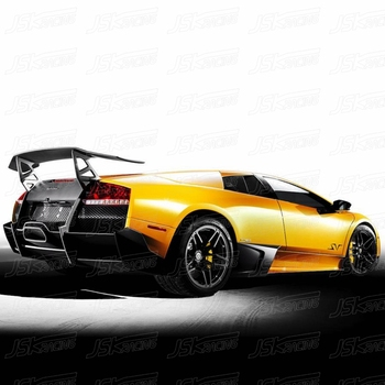 Sv Style Carbon Fiber Rear Spoiler Wing For Lambo Murcielago Lp670 4