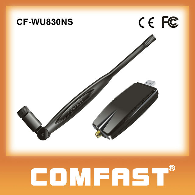 Fast delivery Wireless adapter support HDTV and windows 8/7/Vista/XP/Linux,Max COMFAST CF-WU830NG