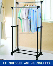 powder coated movable heated clothes drying rack