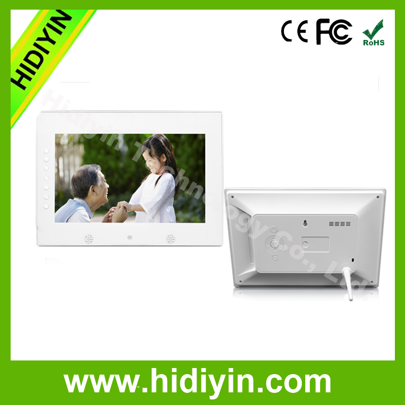 7 inch chinese HD hot video free downloads LCD movies display high-quality mp3 player