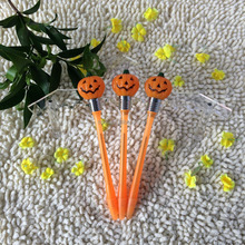 plastic knock bulb ball flash light up music pen for Holloween holiday