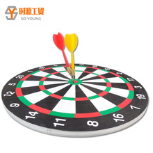 "12"" paper dart board no iron net"