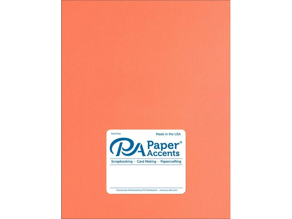 Accent Design Paper Accents Premium Cdstk Pk 48pc AST Texturd Cardstock 8.5x11 Textured SoftTones 8.5 x 11