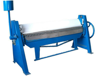Good price hand type sheet metal folder machine/manual plate edge bending