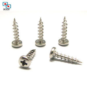 CD pattern phillips head machine screw/mirror precision screw/self tapping screw