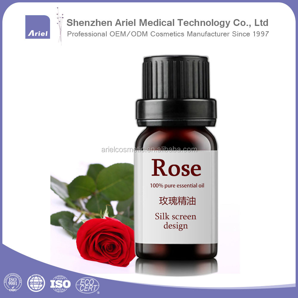 China brand whitening balance skin best rose essential oil