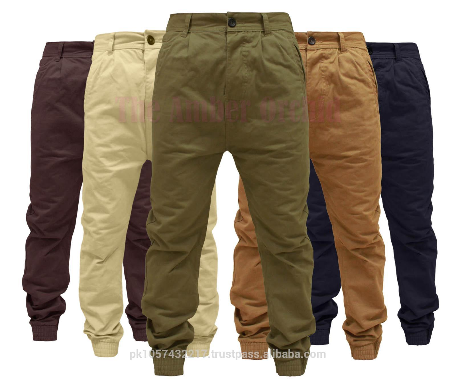 Chino Pants - 2014 New Arrival Men's Black Chino Jogger Pant ...