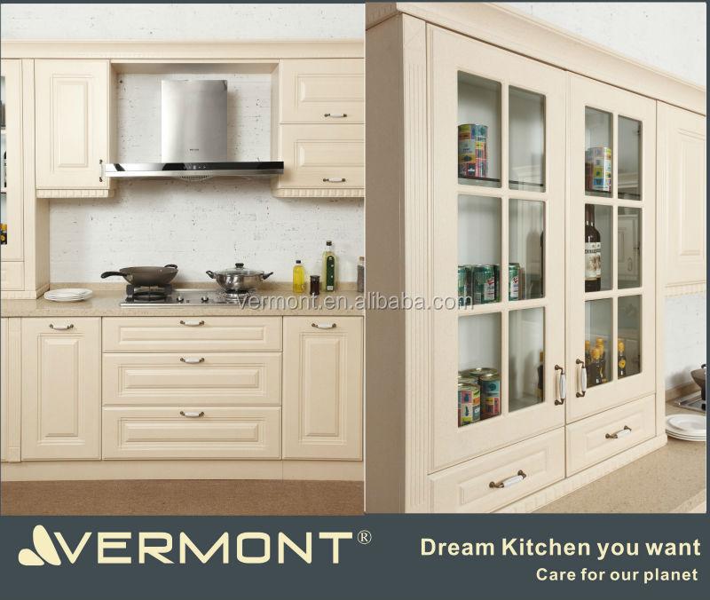 Buy Kitchen Cabinet Doors: European Style Pvc Molded Kitchen Cabinet Door-colored