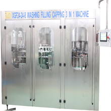 Complete automatic bottle water/juice/soda drink filling line