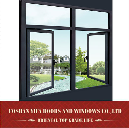 Cheap New Design Models Double Glass French Used Aluminum Window ...