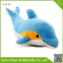 FRIENDLY DOLPHIN STUFFED PLUSH FOR BED HANGING OR WAWTCHING WITH GOOD MOON