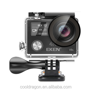 New arrival EKEN V8S 4K 30fps Sport Camera Full Time Image Stabilizer 170 Degree Lens WiFi Control 14MP EKEN V8S Action Camera