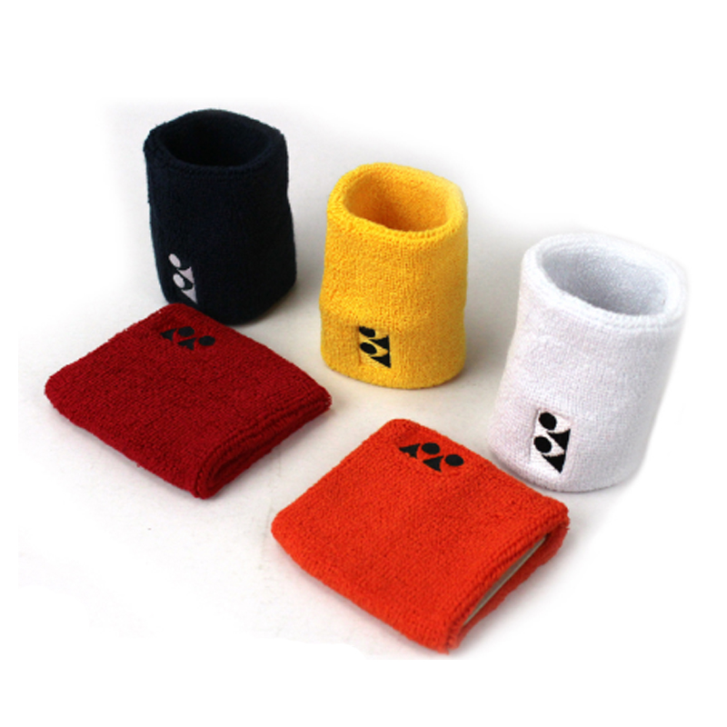 Promotional cotton sport wristband terry wrist band woven wristband