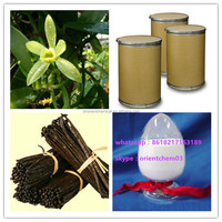 natrual vanillin,white vanilla extract powder price
