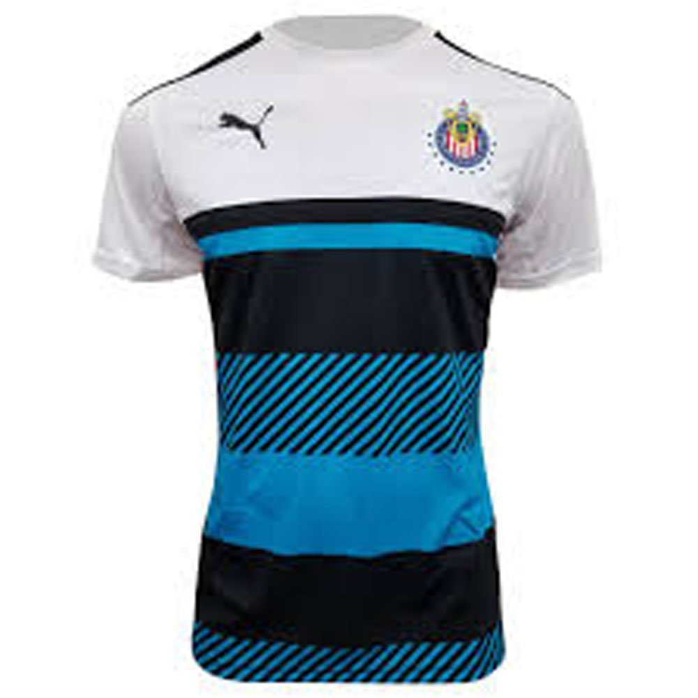 e98beed2b Get Quotations · Puma 16 17 Chivas Authentic Soccer Training Jersey
