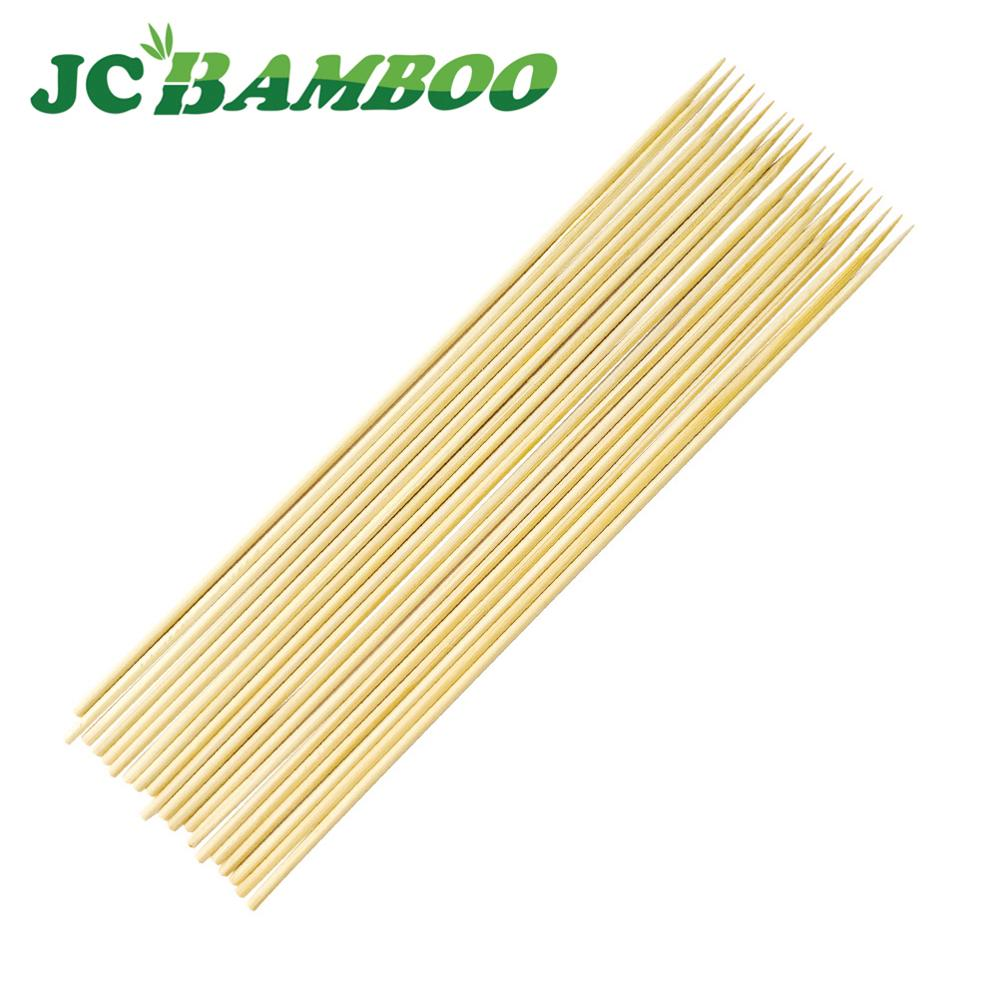 Hot Selling Round Meat Bbq Bamboo Fan Sticks For Bbq