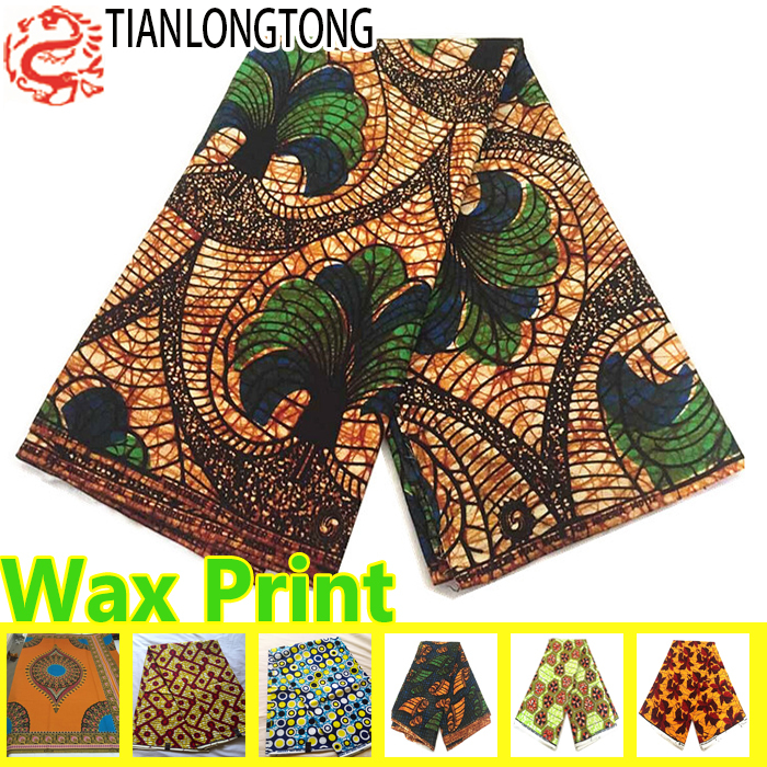 100% POLY polyester cotton african fabric wax /super wax hollandais 2015 fabric