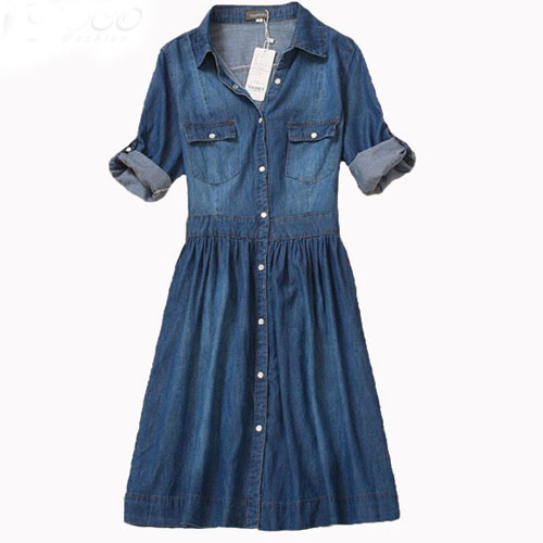 Cheap Plus Size Denim Dresses Find Plus Size Denim Dresses Deals On