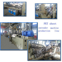 2014 verified golden manufacturing PET sheet extrusion line