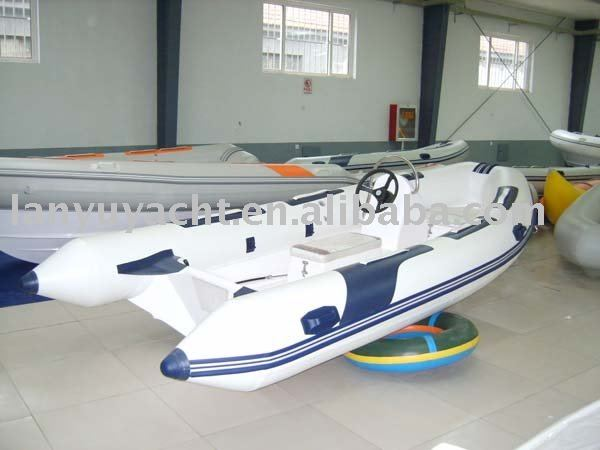 inflatable RIB yacht