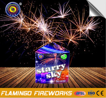 triangle starry sky fireworks cakes 15s best prices