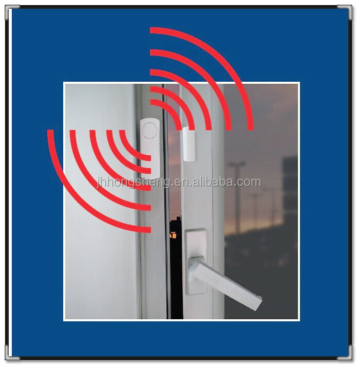 4x Wireless Home Window Door Entry Burglar Security Alarm System Magnetic Sensor