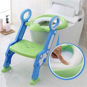 2019 New Baby Children Kids Boys Girls Potty Seat With Ladder Cover Toilet Folding Chair Pee Training Urinal Seating Potties