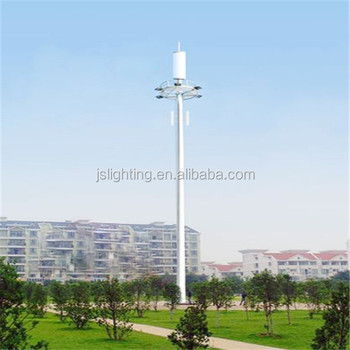 High Telescoping Mast and Vertical Mounted Mobile Telescoping Telecommunication Tower and pole