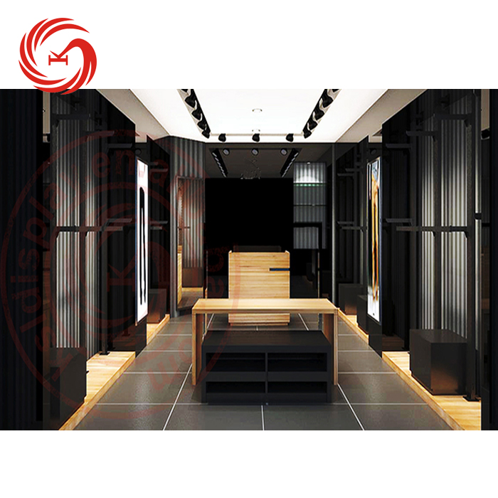 Hot sale exhibition stand clothing display furniture for clothing store
