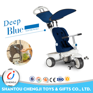 China manufacturer direct traveling adjustable pedal 3 in 1 baby stroller