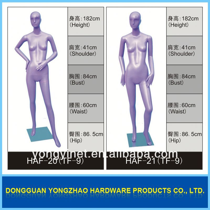 Factory price!!transparent female mannequin