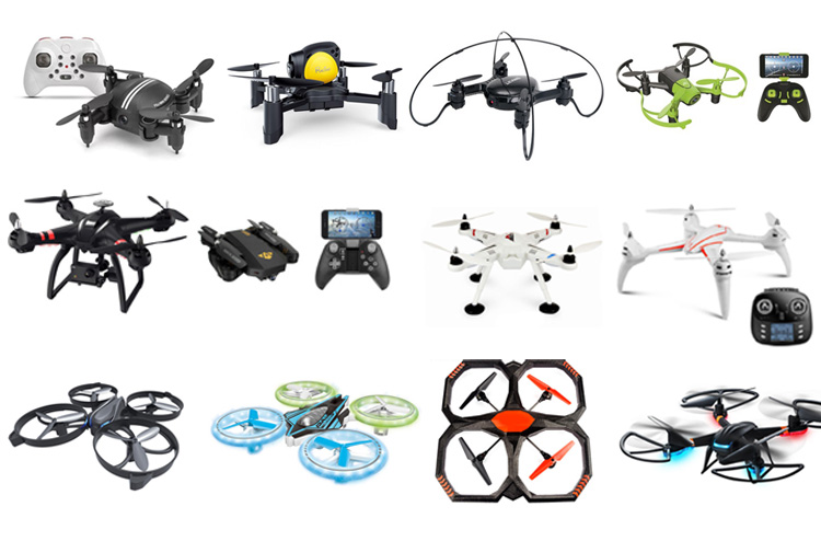 DIY Colorful Foldable Selfie Drone Mini RC Quadcopter With 1080P WIFI Wide Camera