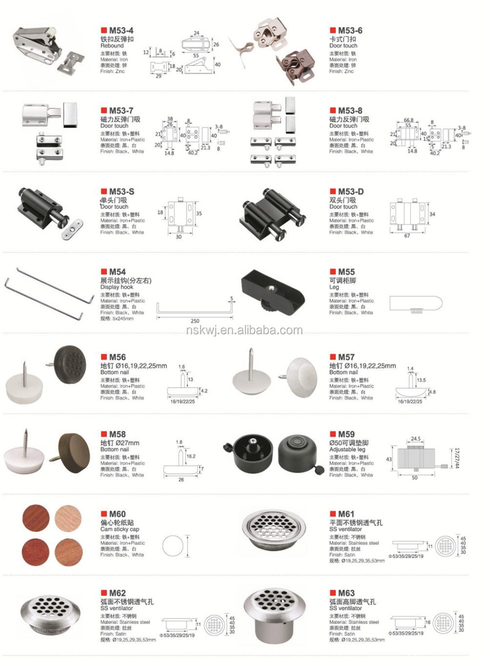 Mobili Magnete Push Porta Aperta Cattura Fermo Porta Magnete Per Cabinet