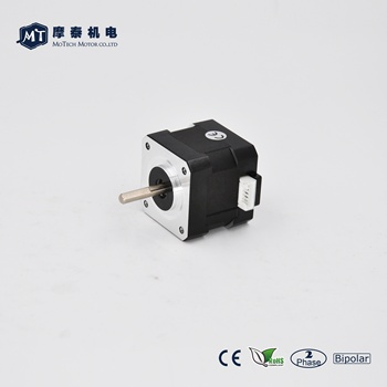 0.9 Degree Nema 17 Bipolar Stepper Motor 34Ncm 1.68A 42*40mm, wholesale