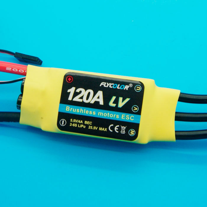 120A brushless ESC for RC aircraft & helicopter