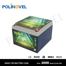 ST series 12v 30Ah lifepo4 battery solar street light battery