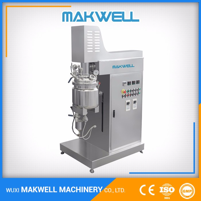 Reliable Manufacturer Accurate Measuring Cream Emulsifying Mixing Vessel