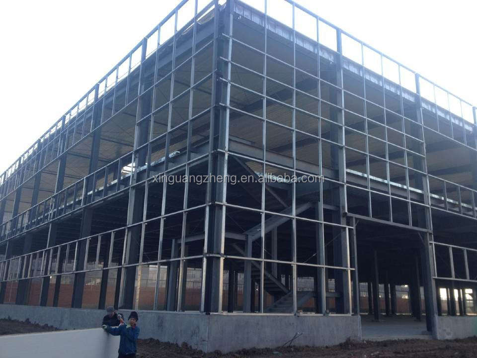 prefabricated industrial steel structure building with good price