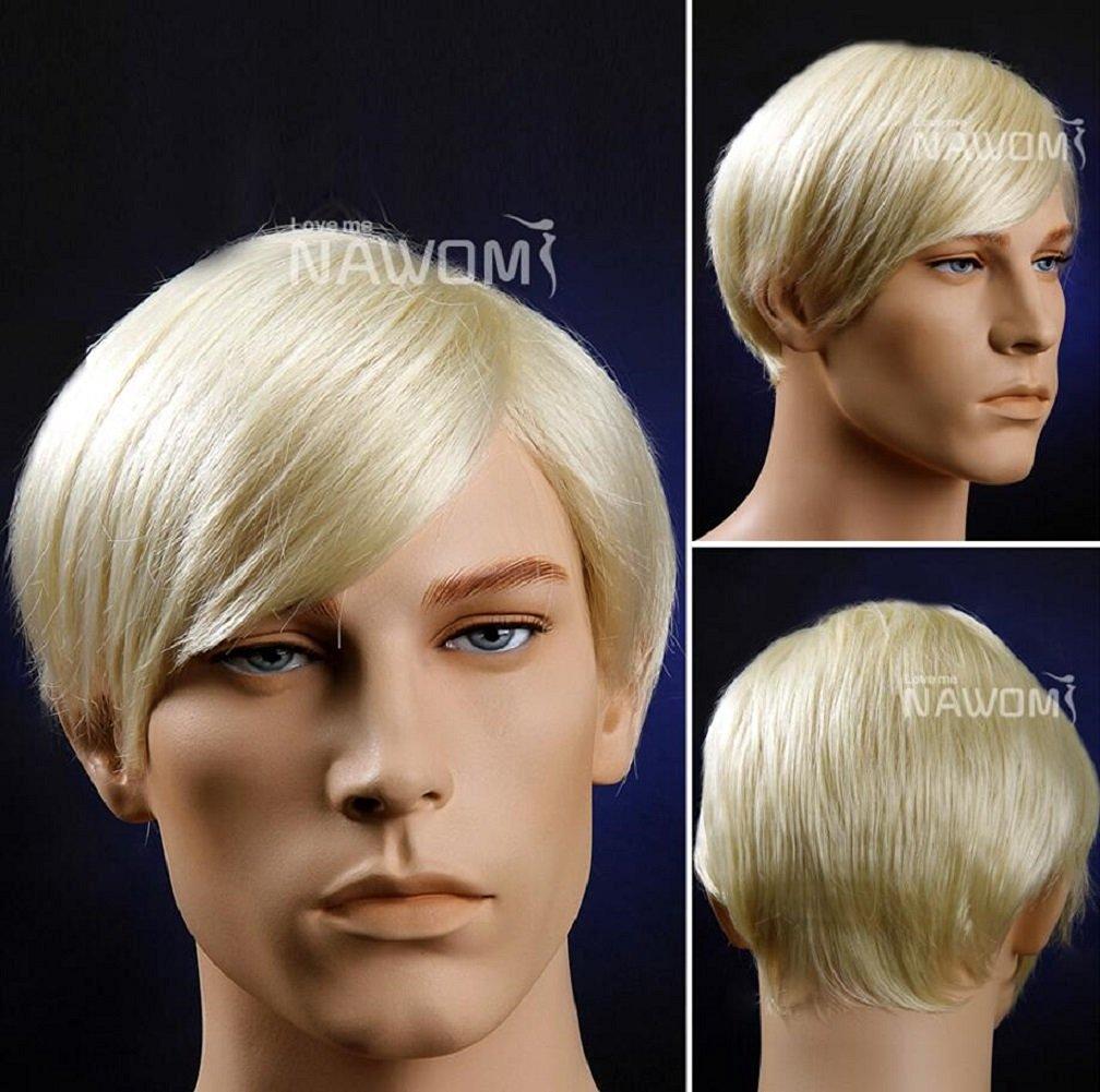 Late Nite Jay Leno Costume Wig Rubies Mens Gray Wig 51368